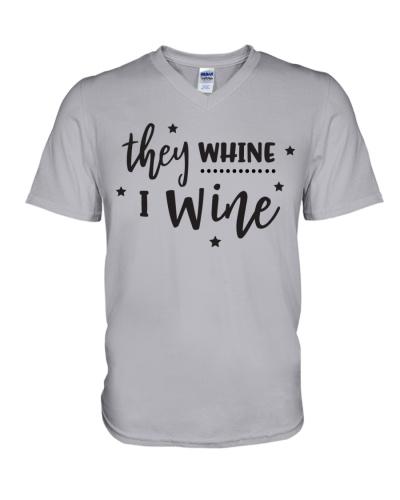 I Wine in black