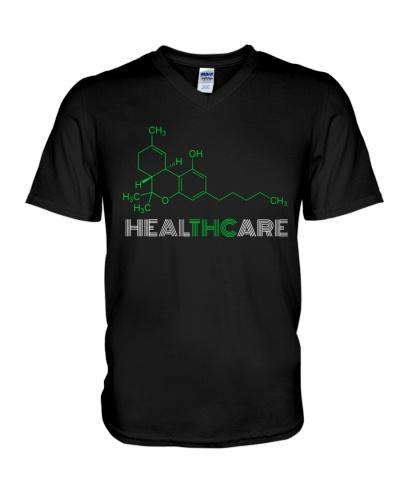 THC Healthcare Shirt THC Molecule Weed Cannabis