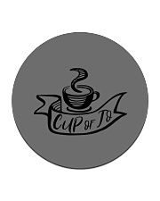 Cup of Jo Coaster Circle Coaster front