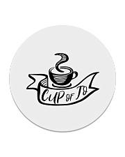 Cup of Jo Coaster Circle Coaster front