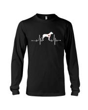 Dogo Argentino Mastiff heartbeat Long Sleeve Tee thumbnail
