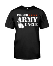 Proud Army Uncle Classic T-Shirt front