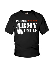 Proud Army Uncle Youth T-Shirt thumbnail