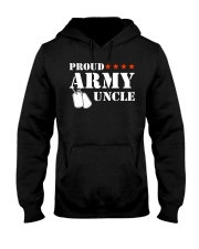 Proud Army Uncle Hooded Sweatshirt thumbnail