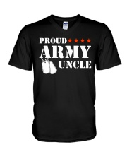 Proud Army Uncle V-Neck T-Shirt thumbnail