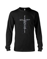 Jesus Galaxy Long Sleeve Tee thumbnail