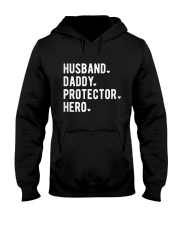 Husband Daddy Protector Hero Hooded Sweatshirt thumbnail