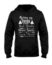 Kind Hearts Brave Spirits Fierce Minds Hooded Sweatshirt thumbnail