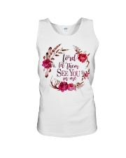 Lord let them see you in me Unisex Tank thumbnail