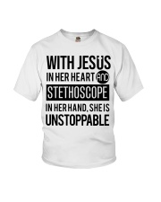 She is unstoppable Youth T-Shirt thumbnail