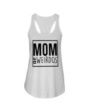 Mom of Weirdos Ladies Flowy Tank thumbnail