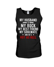 My Husband is Hot as Hell Unisex Tank thumbnail