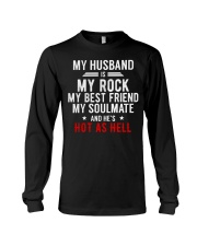 My Husband is Hot as Hell Long Sleeve Tee thumbnail
