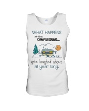 What happens at the Campground Unisex Tank thumbnail