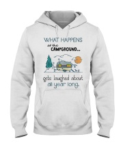 What happens at the Campground Hooded Sweatshirt thumbnail