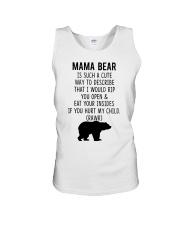 Mama Bear Unisex Tank thumbnail
