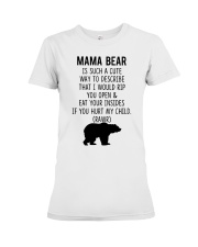 Mama Bear Premium Fit Ladies Tee thumbnail