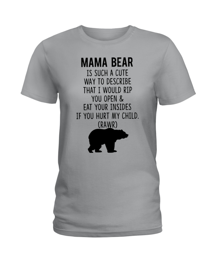 Mama Bear Ladies T-Shirt