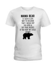 Mama Bear Ladies T-Shirt tile