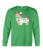 All You Need is Love and a Yorkie Crewneck Sweatshirt thumbnail