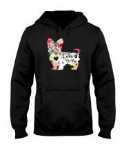 All You Need is Love and a Yorkie Hooded Sweatshirt thumbnail
