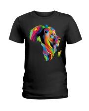 Black Lion Ladies T-Shirt front