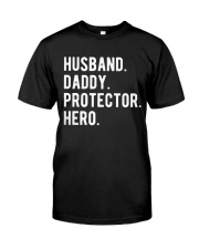 Husband Daddy Protector Hero Classic T-Shirt tile