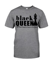 Black Queen The Most Powerful Piece Classic T-Shirt thumbnail