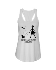 And She Lived Happily Ever After Ladies Flowy Tank thumbnail