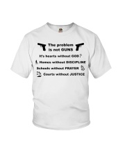 The problem is not GUNS Youth T-Shirt thumbnail