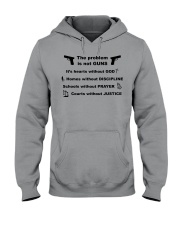 The problem is not GUNS Hooded Sweatshirt thumbnail