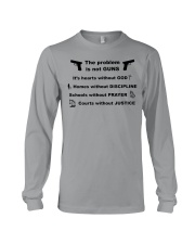 The problem is not GUNS Long Sleeve Tee thumbnail