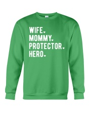 Wife Mommy Protector Hero Crewneck Sweatshirt thumbnail