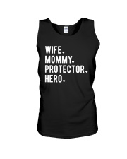 Wife Mommy Protector Hero Unisex Tank thumbnail