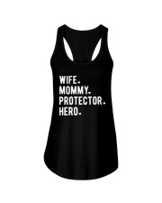 Wife Mommy Protector Hero Ladies Flowy Tank thumbnail