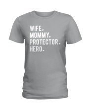 Wife Mommy Protector Hero Ladies T-Shirt front