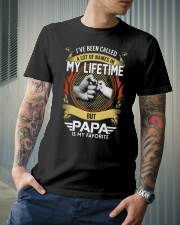 Papa is my Favorite name Classic T-Shirt lifestyle-mens-crewneck-front-6