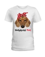 Dachshund Mom Ladies T-Shirt front