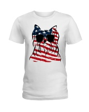 4th July Ladies T-Shirt front