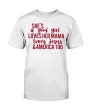 She's a good girl Classic T-Shirt thumbnail