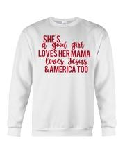 She's a good girl Crewneck Sweatshirt thumbnail