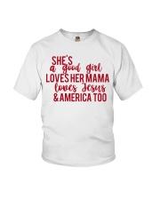 She's a good girl Youth T-Shirt thumbnail
