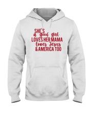 She's a good girl Hooded Sweatshirt thumbnail