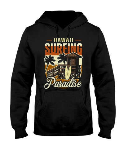 Hawaii surfing paradise