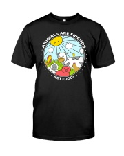 Animals Are Friends - Best shirts for vegans Classic T-Shirt thumbnail