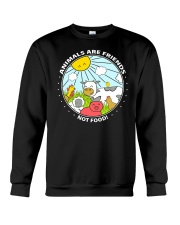 Animals Are Friends - Best shirts for vegans Crewneck Sweatshirt thumbnail