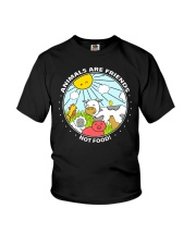 Animals Are Friends - Best shirts for vegans Youth T-Shirt thumbnail