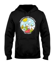 Animals Are Friends - Best shirts for vegans Hooded Sweatshirt thumbnail