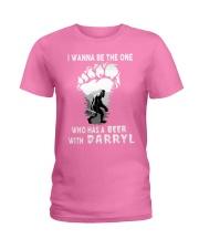 DARRYL PINK Ladies T-Shirt tile
