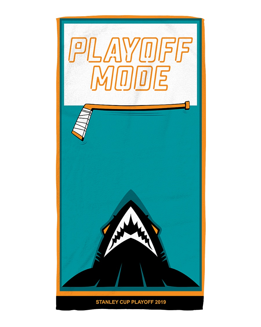 Playoff Mode Beach Towel